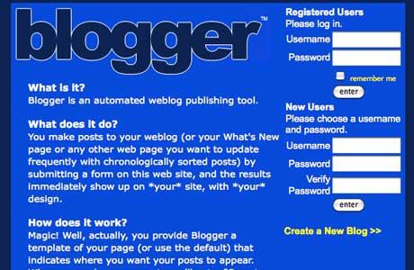 first-blogger